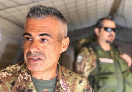 Il presidente regionale della Croce Rossa Sergio Piredda ringrazia l'Unione 'Marmilla'