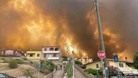 Il 'cuore' della gente di Marmilla per le zone ferite dagli incendi